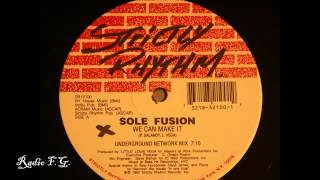 FG Sole Fusion - We Can Make It (1992)