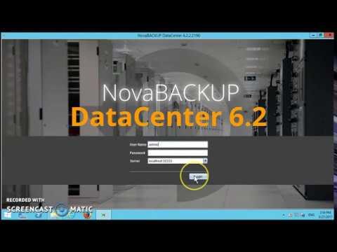 NovaStor DataCenter - Basic Installation Walk-Through