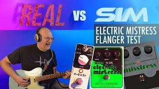 Electro Harmonix Electric Mistress flanger test