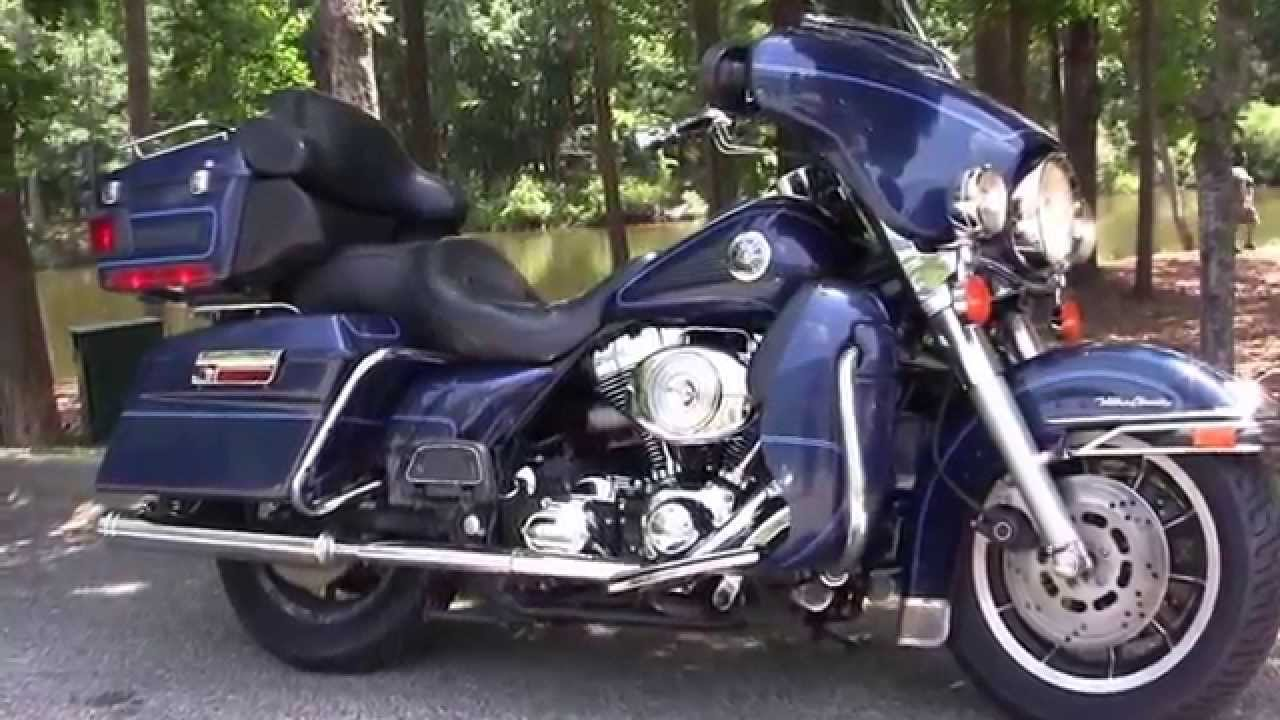 Harley Davidson Electra Glide Ultra Classic Motorcycle
