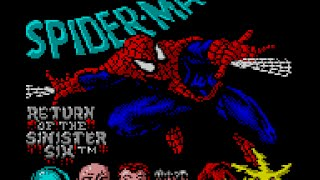 Game Gear Longplay [064] Spider-Man: Return of the Sinister Six