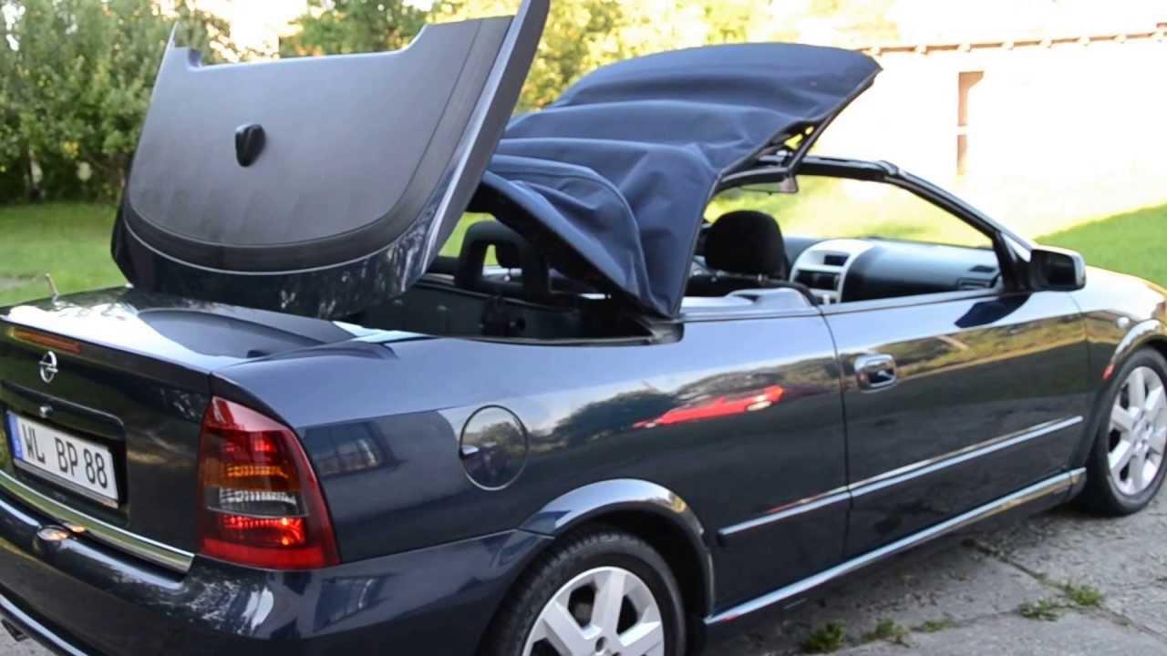 astra bertone cabrio 2001, 1.8 16v 125km - youtube