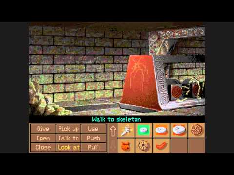 Let's Play Indiana Jones and the Fate of Atlantis part 12 |