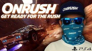 ONRUSH Gameplay PS4 PL - Unboxing paczki i pierwsze kroki w grze!
