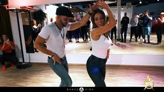 Dominican Bachata workshop Anthony and Carla | HSW 2019 | by Dance Vida