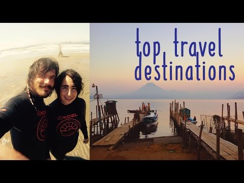 Our Top Travel Destinations WITH FOOTAGE!  #traveltalktuesday