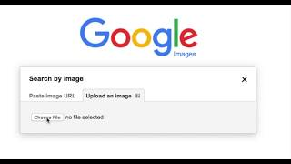 How to do an image search using google image search