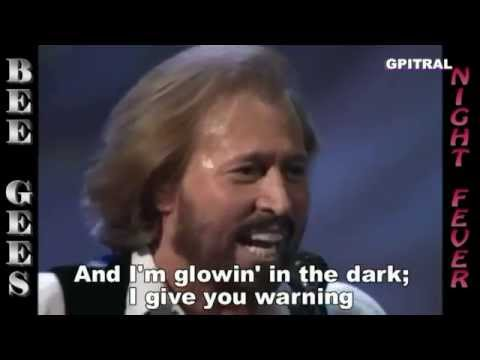 Bee Gees Night Fever lyrics