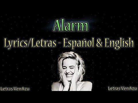 Alarm - Anne Marie | Lyrics on English & Spanish