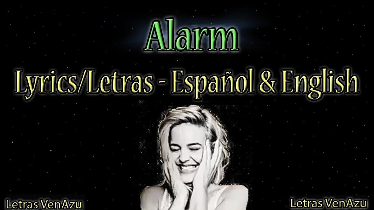 Download Alarm - Anne Marie   Lyrics/letras en Español & English