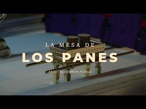 Apóstol German Ponce │ La Mesa De Los Panes │ martes 22 enero 2019