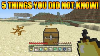 ★Minecraft Xbox 360 + PS3: 5 Cool Things You Possibly Didn