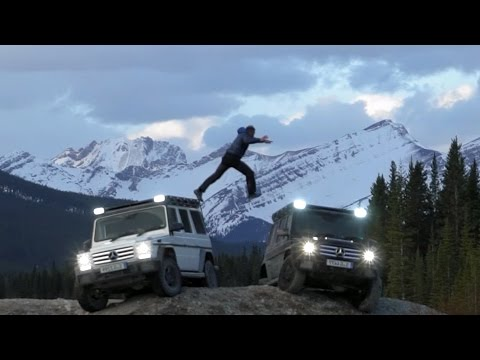 Pole2Pole: Mike Horn Expedition with the Mercedes-Benz G Class in Alberta, Canada