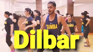 DILBAR | Satyameva Jayate | zumba dance fitness workout choreography by amit