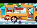 Daddy Take His Child To School - My Town Games