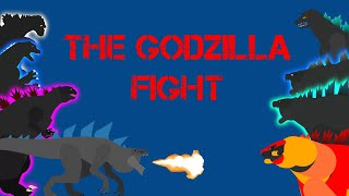 The Godzilla fight | (stick nodes)