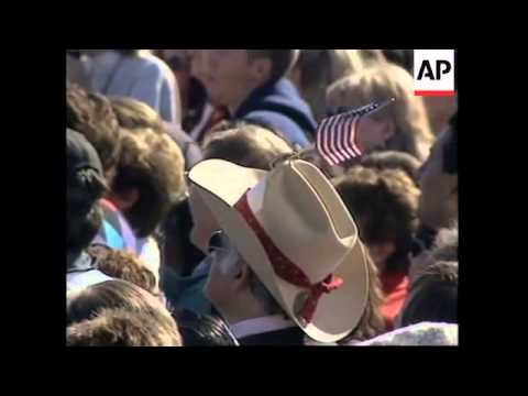 USA: CALIFORNIA: BILL CLINTON SPEAKS ABOUT CAMPAIGN FINANCE REFORM