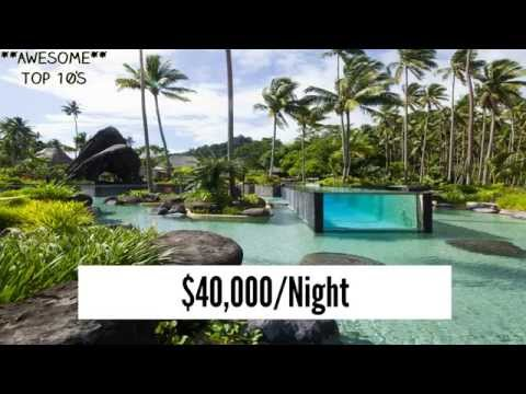 Top 10  Most Expensive Hotel Rooms In The World 2014