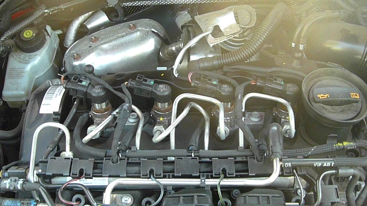 vw 2 0 tdi egr valve location