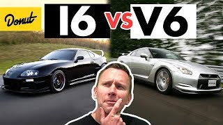 INLINE 6 vs. V6 - How it Works | SCIENCE GARAGE