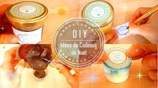 DIY | Idées de Cadeaux de Noël Faits Mains : 3 Soins (Corps, Visage, Lèvres)  - Claire