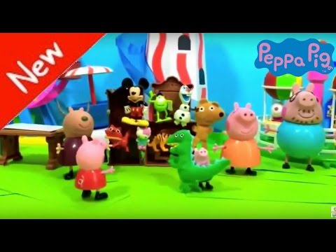 Peppa Pig Toys Video Collection - Peppa pig 2015 family is toys for kid