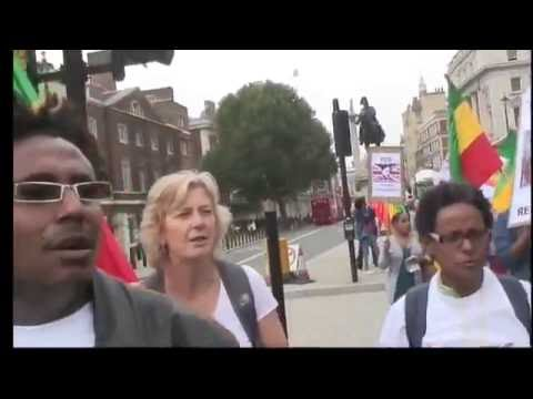 Londoners ask the UK Government to bring andargachew tsige home.
