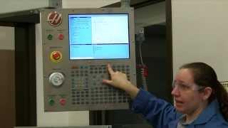 HAAS CNC Lathe Part Set-up Tutorial