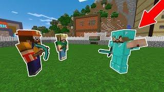 ZENGİN İŞÇİLERİ İŞTEN KOVDU! 😱 - Minecraft
