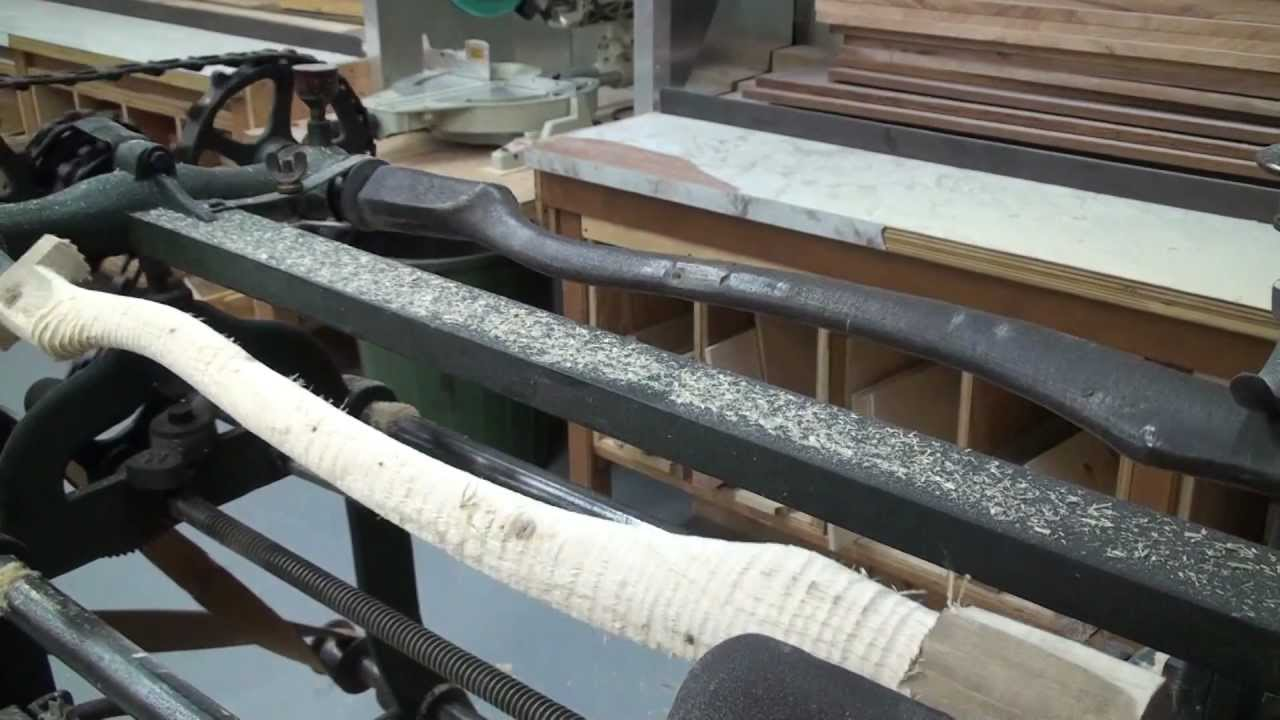 Copying Lathe - YouTube