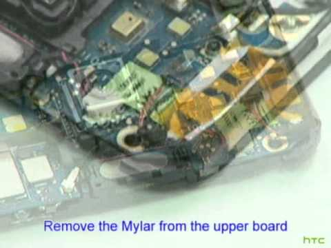 HTC Desire HD Disassembly Video