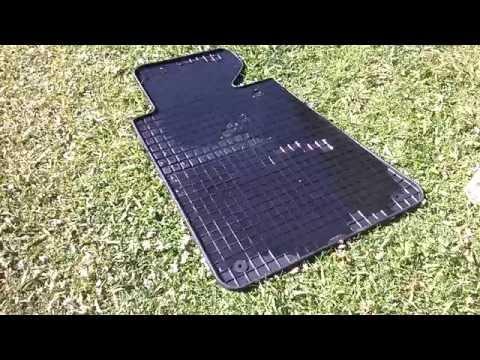 Резиновые коврики Petex в салон автомобиля