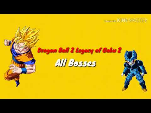 Dragon Ball Z Legacy Of Goku 2 | All Bosses |