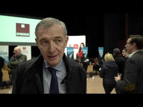 La visite du sous-préfet de Saint-Nazaire sur le salon Synergie.aero