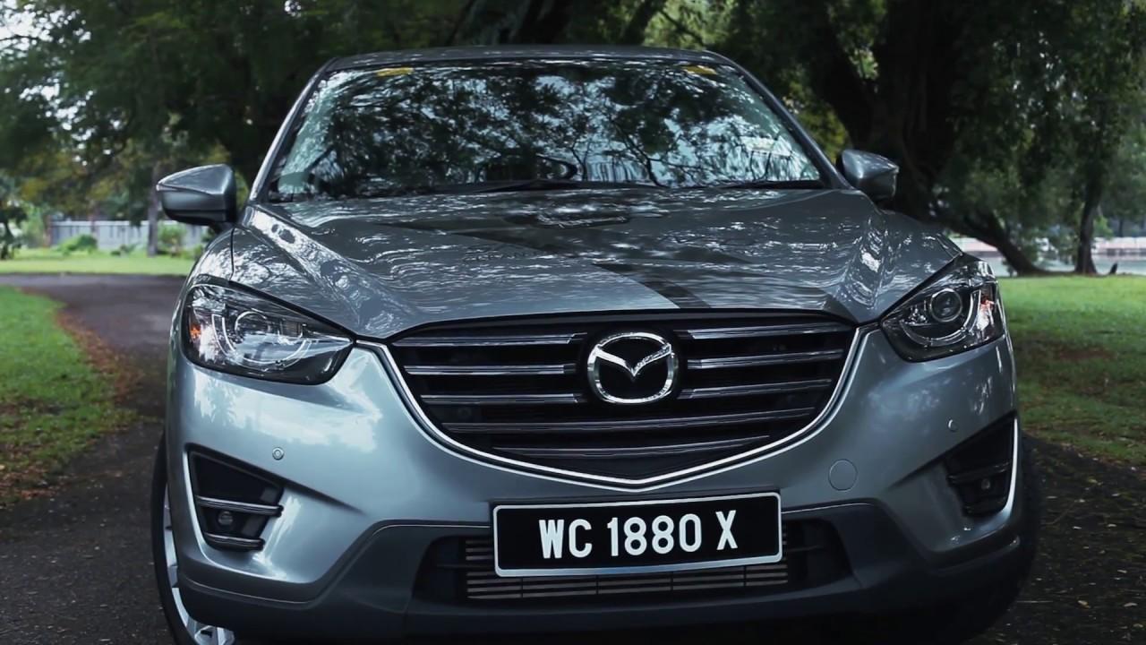 2016 Mazda CX-5 sel 2.2 SkyActiv-D Walkaround - YouTube