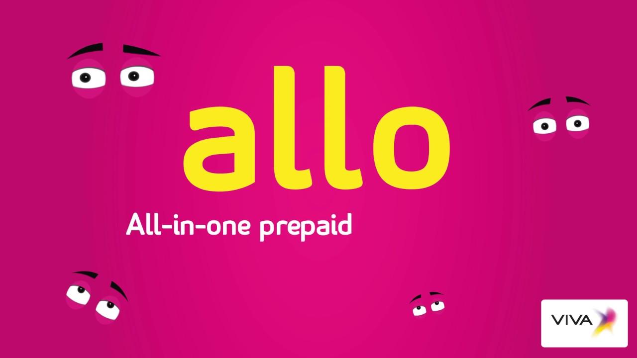 Allo, All-in-one Prepaid line & 'more'