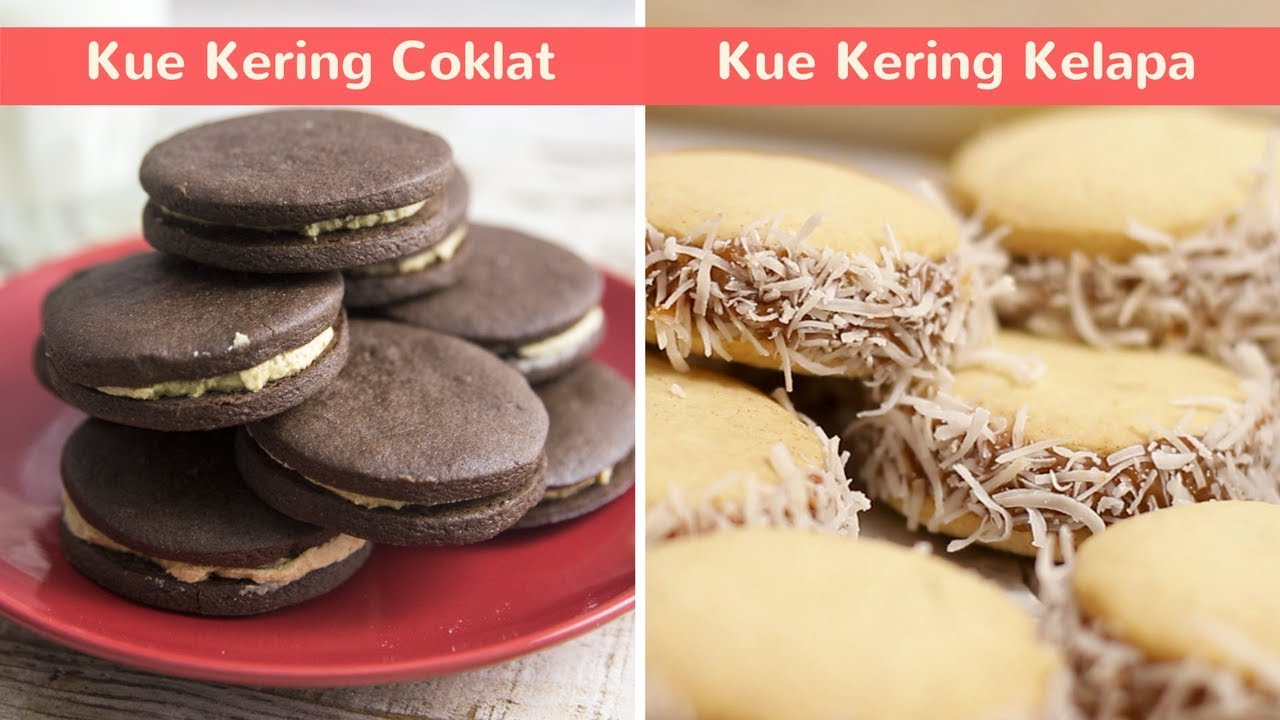 2 Resep Kue Kering Lebaran Enak Dan Praktis 5 Kue Kering Kelapa Dan Kue Kering Coklat Jahe