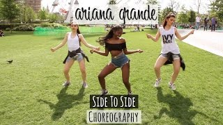 @ArianaGrande ft @NICKIMINAJ - Side To Side  | @LeoniJoyce Choreography (Available on mobile)
