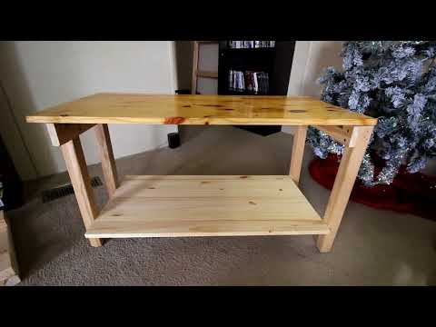 DIY Foldable Table (with measurements!)
