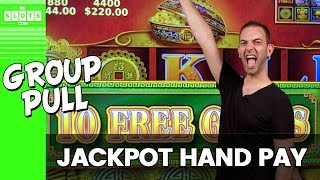 💥 $2,800 Group Pull 🖐️ JACKPOT 🖐️ Handpay w/ The Rudies! ✦ BCSlots