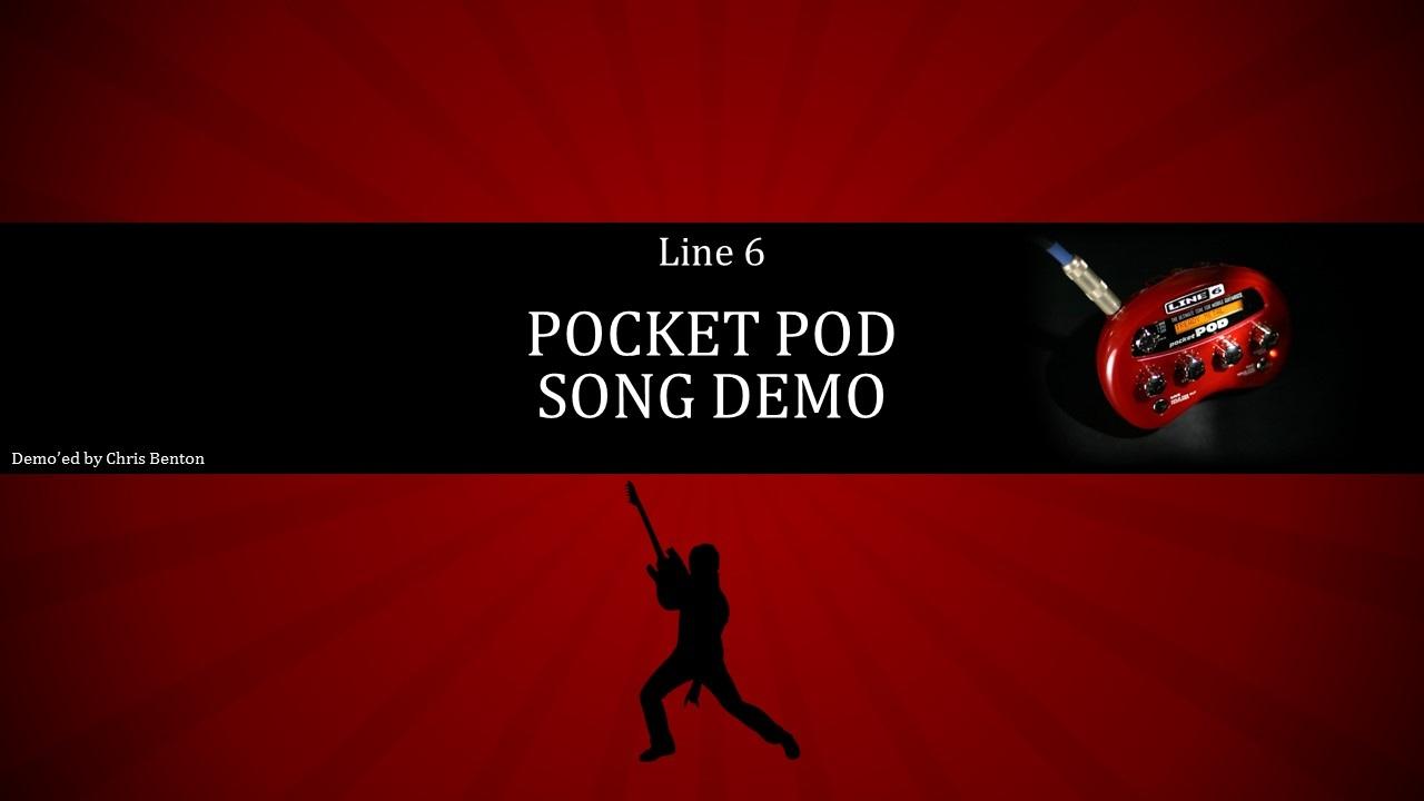 Line 6 Pocket Pod Song Demo Youtube