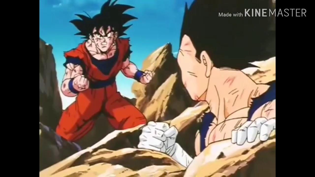 """龙珠 (國語) 貝基塔和悟空用""""波特拉耳環""""合體!!!"""