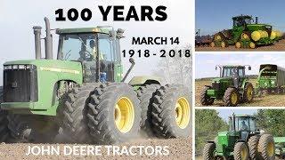 Happy 100th Birthday to John Deere Tractors