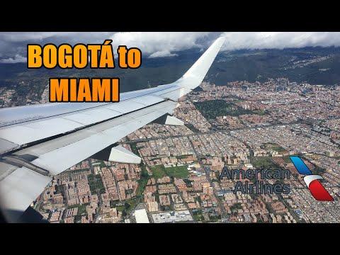 Bogota Miami BOG-MIA | American Airlines | Airbus A319 (#35)