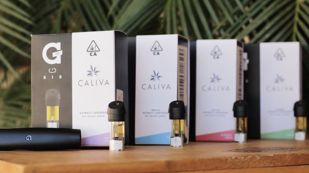 [SHORT] Caliva's G Pen Gio - Four Formulations of Vape