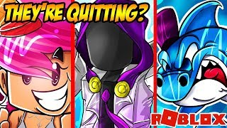 7 Roblox YouTubers That ARE QUITTING SOON! (Corl, NicsterV, LinkMon99, RobloxMuff, Kazok)