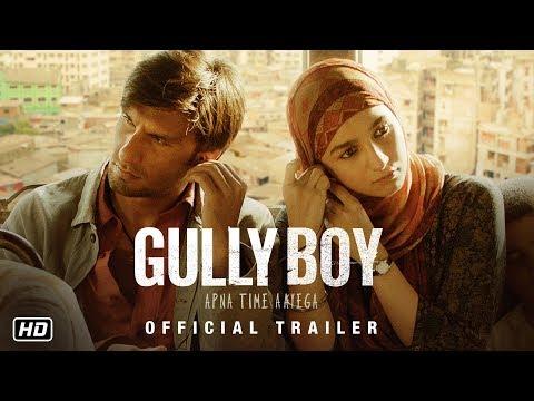 Gully Boy trailers