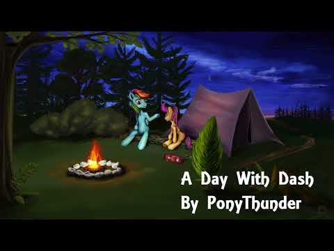 A Day With Dash - MLP Fanfiction Reading ( Uplifting / Feels )