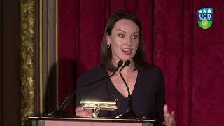Gambar cover UCD 16th Annual New York Benefit Dinner | Helen Doody Speech