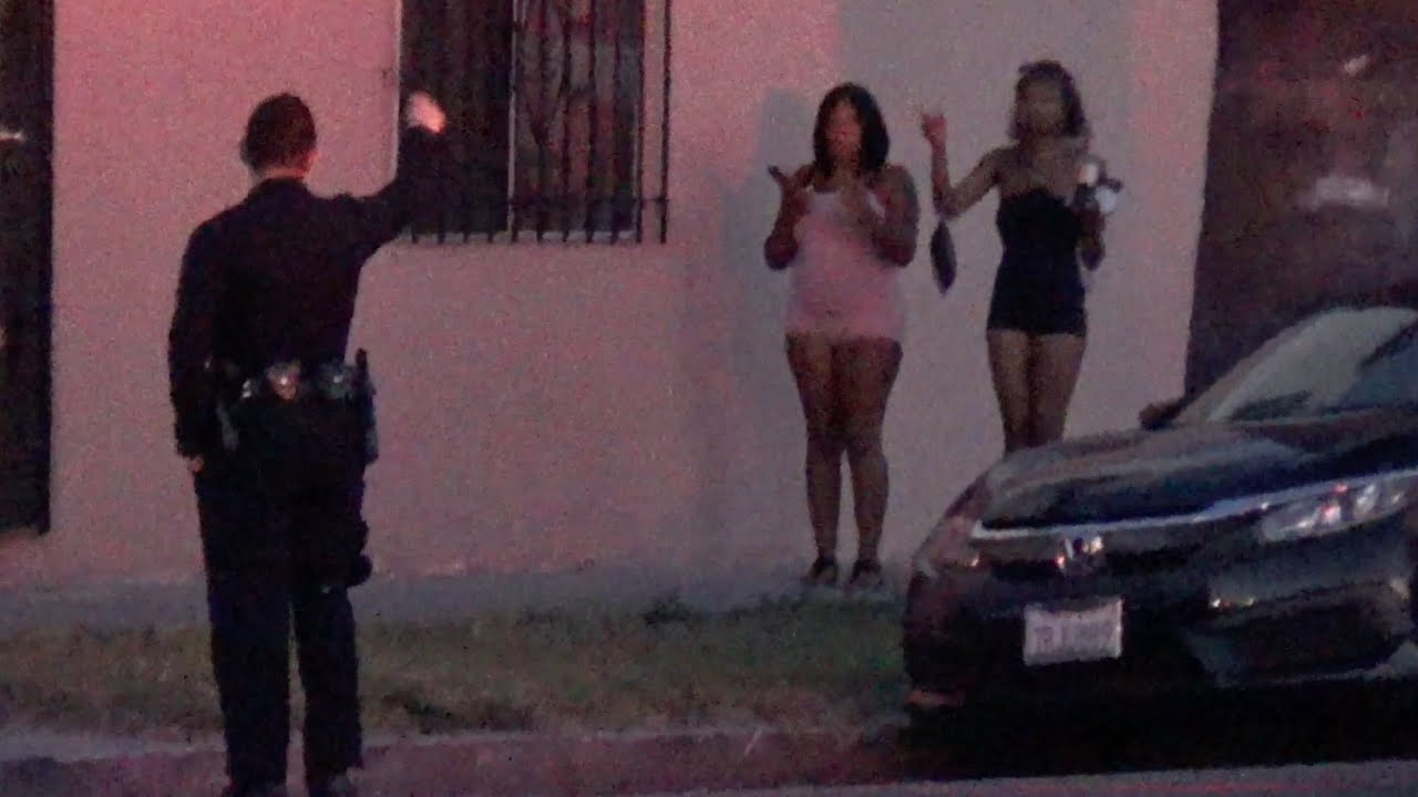Типичный день в криминальном районе Лос-Анджелеса